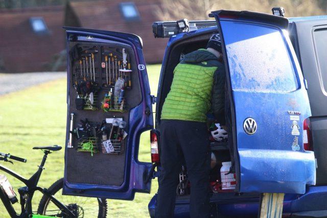 vallelujah van mechanic workshop tools