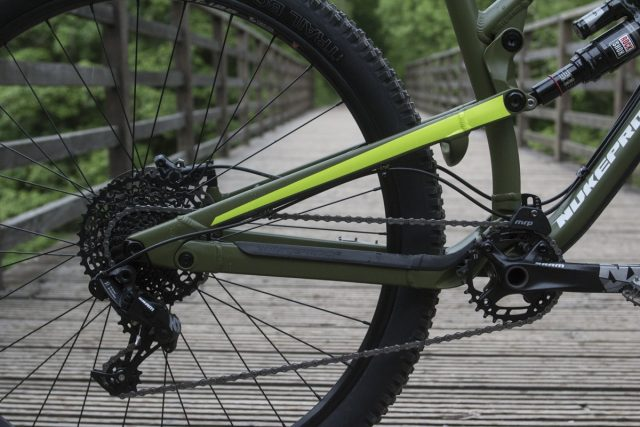 Big wheels, or small chain ring?
