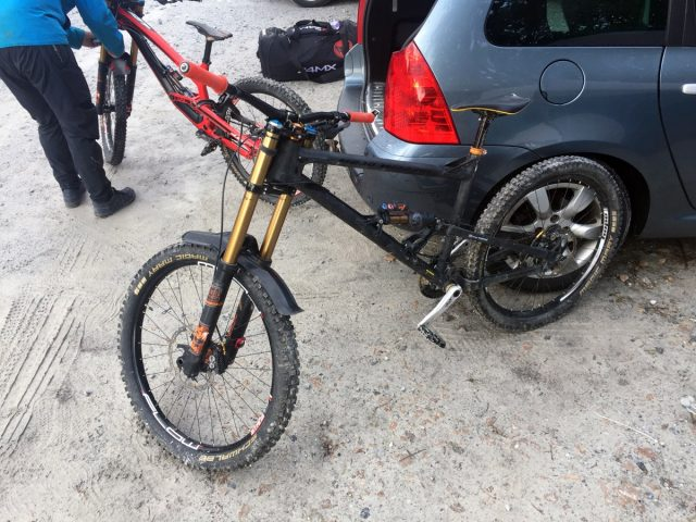 Trail bike with Fox 40s