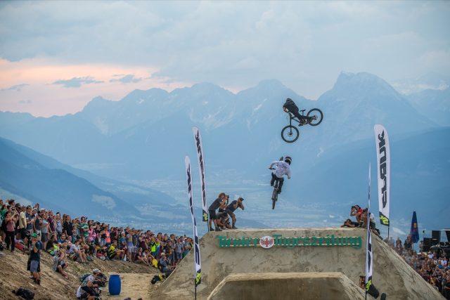 Innsbruck Whipoff: Reboul takes the win. Credit: Crankworx