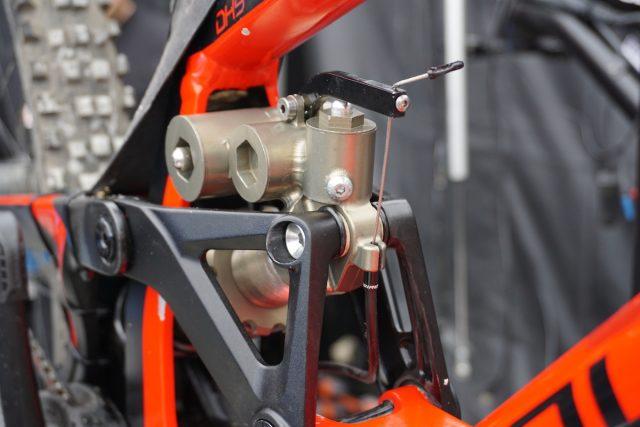 rear shock custom