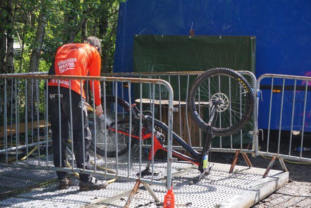 bike wash bay fort william