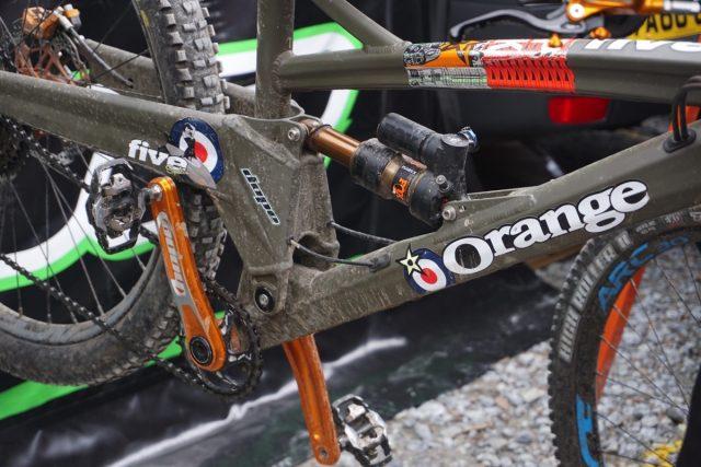 orange custom five dope