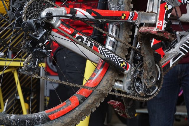 intense cycles 29er pro prototype world cup fort william jeff steber
