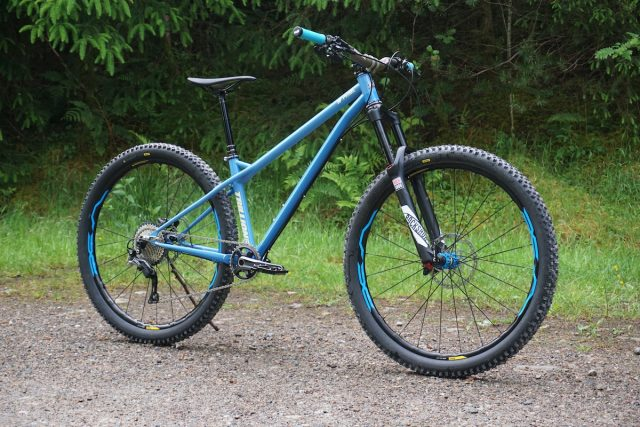 trillion prime steel hardtail fort william made in the uk british