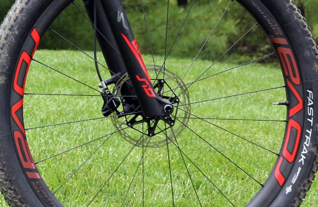Roval carbon hoops in wider 25mm width for more rads