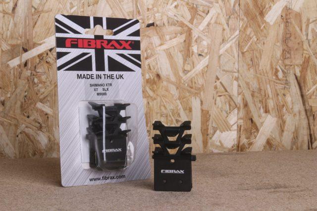 fibrax finned brake pads
