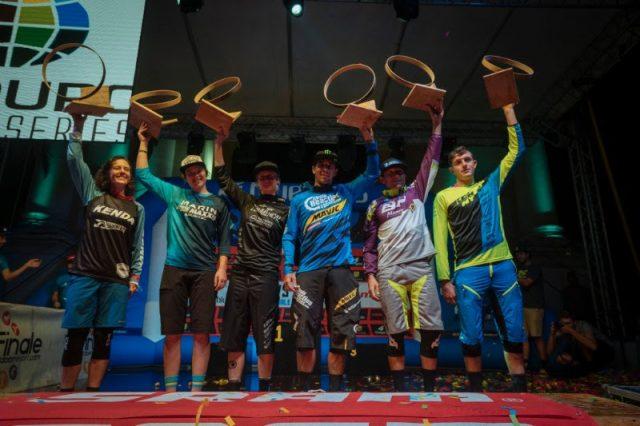enduro world series finale ligure podium
