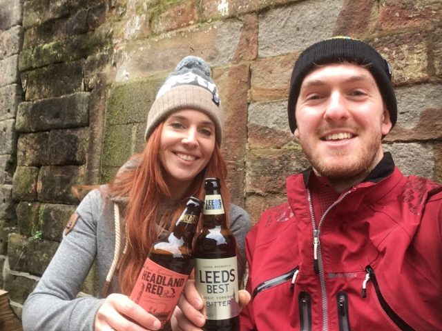 rob amanda beer beanie