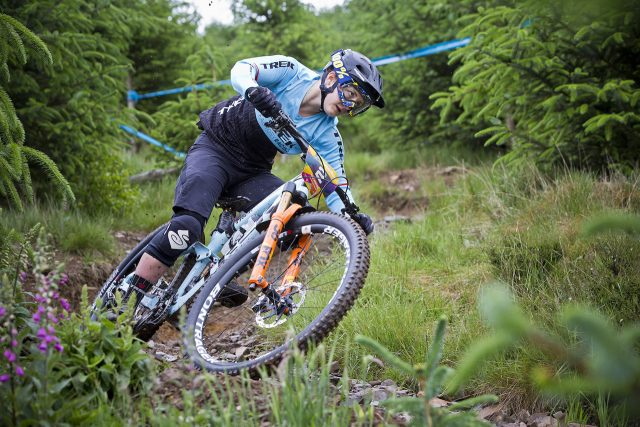 Tweed Valley local Katy Winton racing