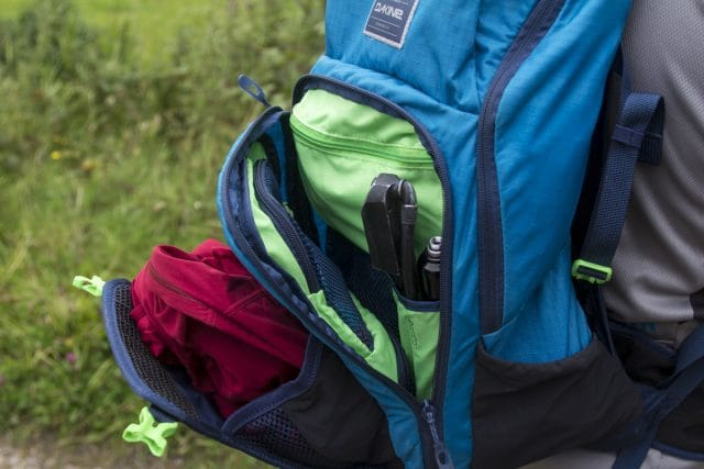drafter backpack hydration bag tools pump