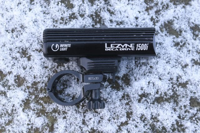 lezyne deca drive i1500 led light handlebar