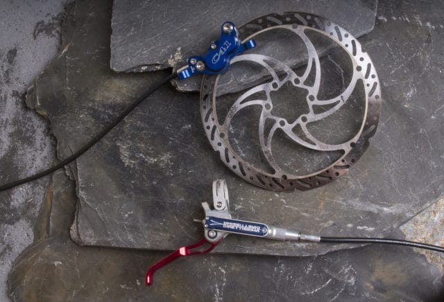 trickstuff direttissima brake issue 115 rotor