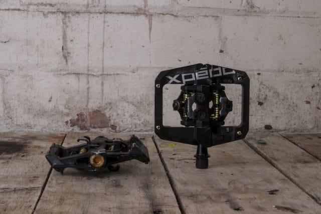 xpedo gfx clip in pedals axle