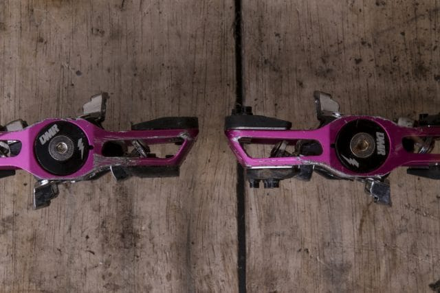 dmr v-twin clip-in pedals cleats