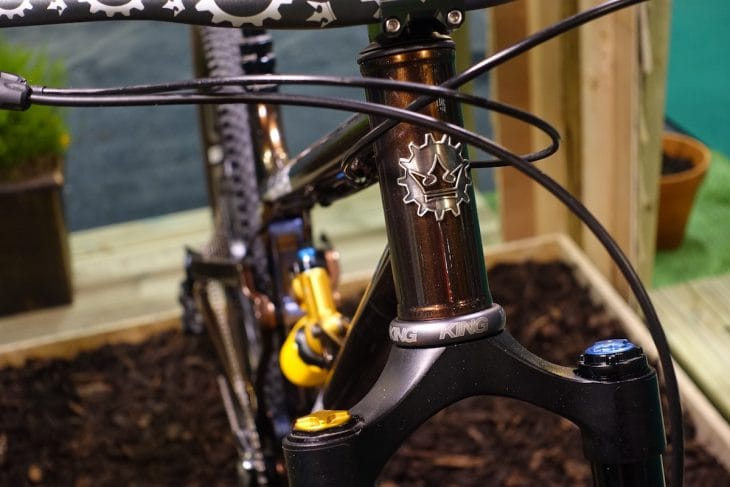 stanton switch9r full suspension steel uk made