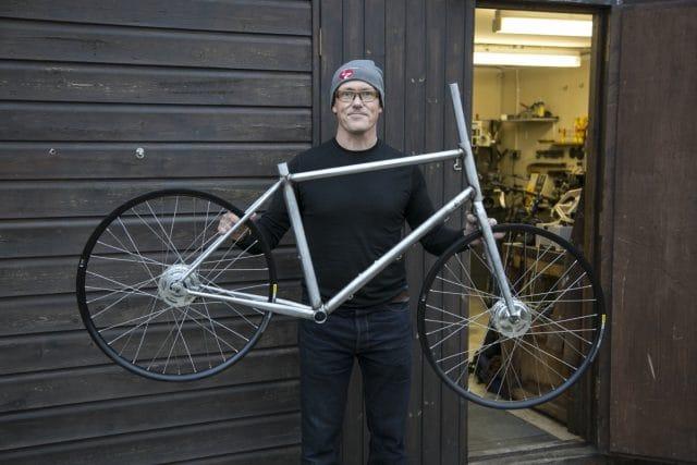Chipps Pub Bike Framebuilding Downland
