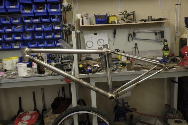 Chipps Framebuilding welding