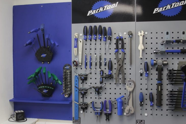 Park Tools Workshop Refit