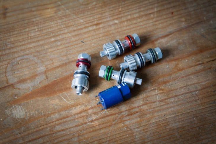 formula selva fork cts damper valve