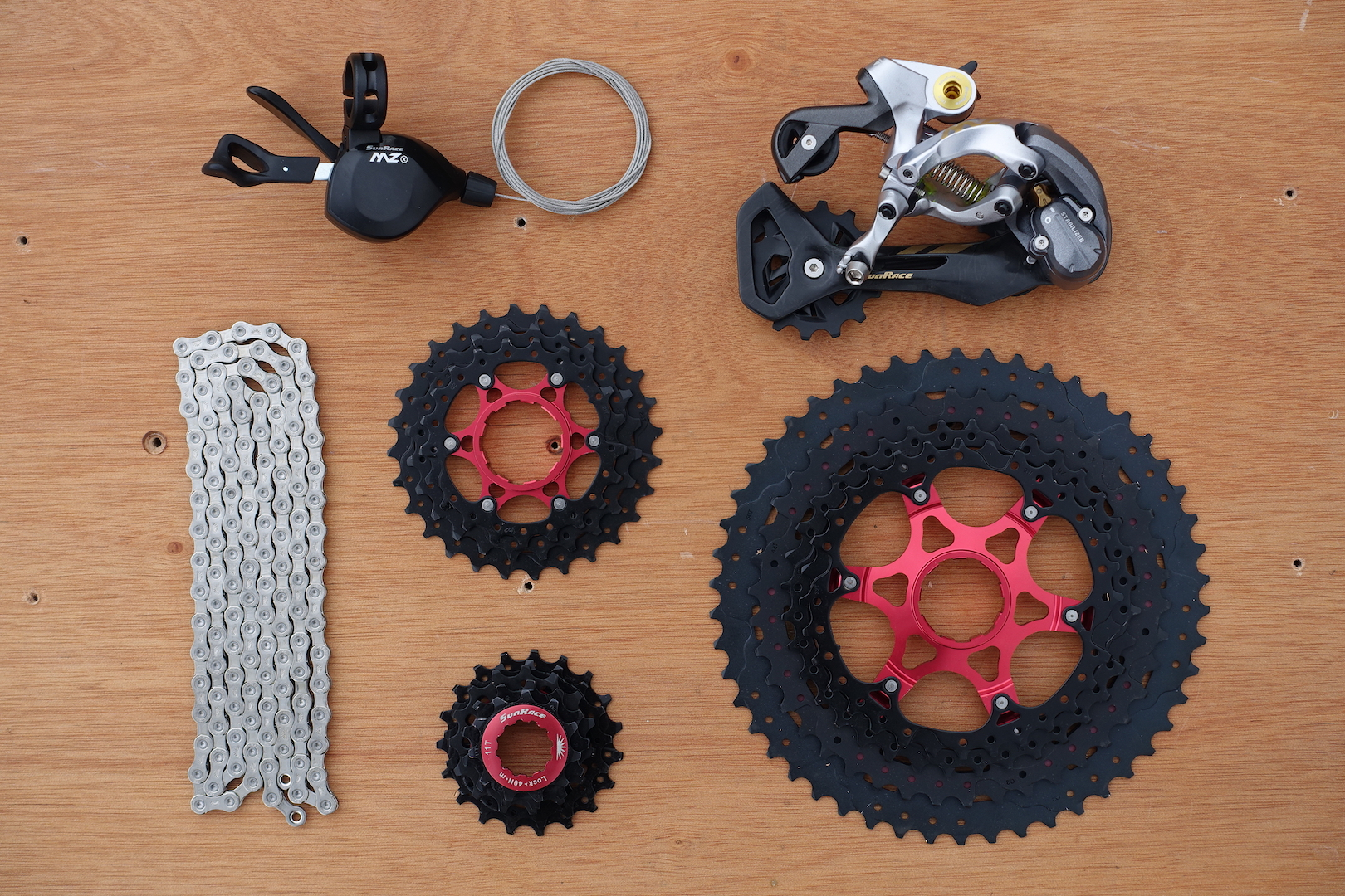 Exclusive New 112 Drivetrain From Sunrace Singletrack Magazine Mini Group Set 11speed Slx Sprocket 46t Its A And It Aint Shimano Or Sram
