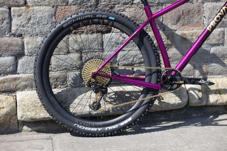 prova ripido steel hardtail australia handmade 3d printing reynolds purple custom xx1 eagle