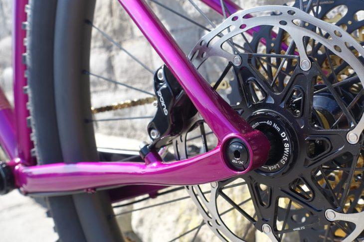 prova ripido steel hardtail australia handmade 3d printing reynolds purple custom