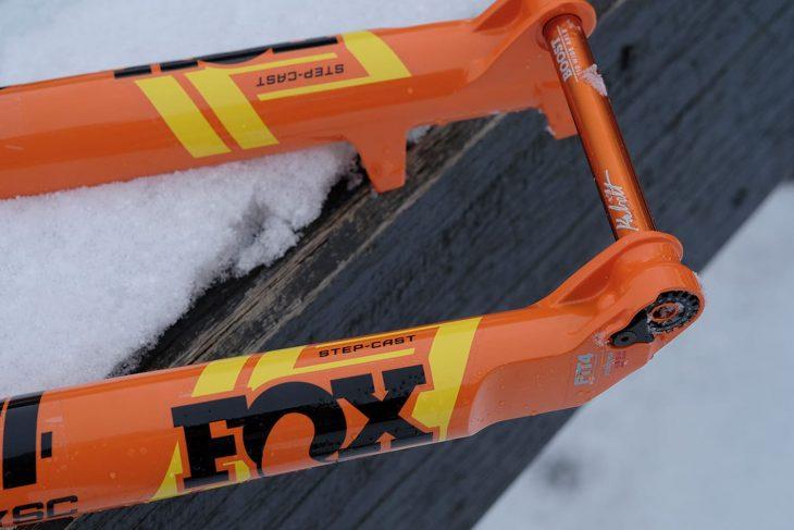 fox 34 step-cast sc fork evol fit4