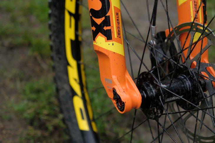 fox 34 step cast float fork stage 4 orange fit 4