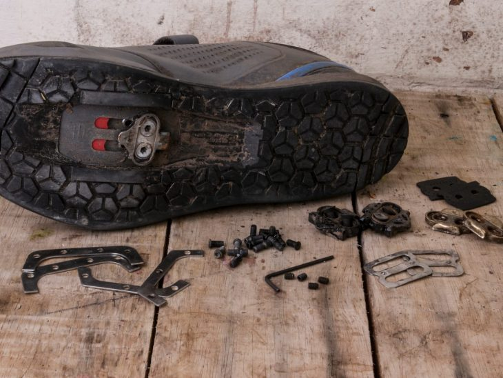 shimano am9 spd shoe cleat