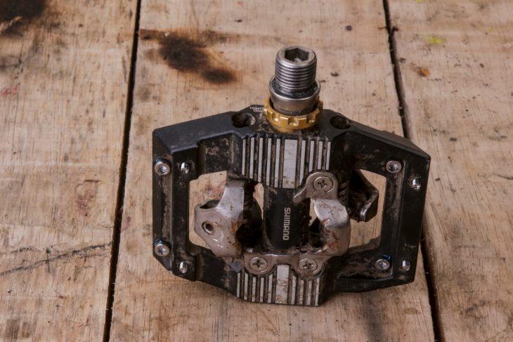 shimano saint spd pedals m820 clip-in