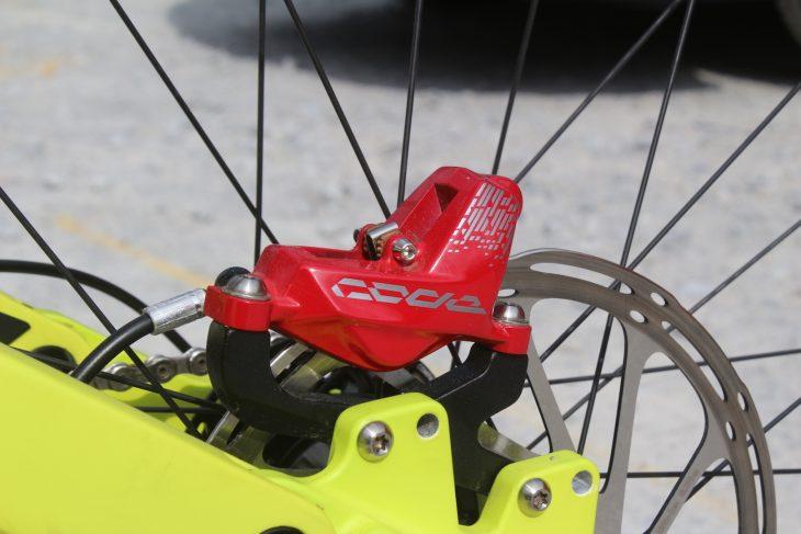 kona operator downhill bike sram code rsc
