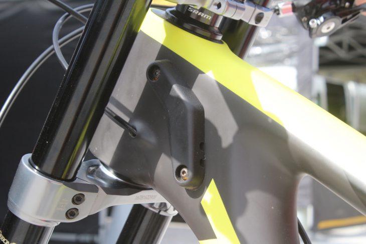 kona operator downhill bike rockshox dual crown boxxer