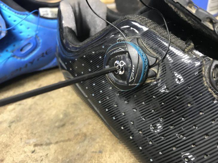shimano xc7 boa dial tools ratchet