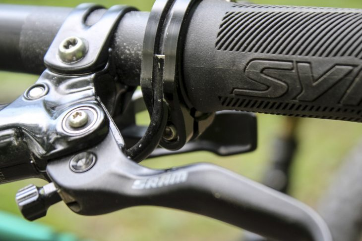 scott genius 900 tuned syncros carbon handlebar stem cockpit cable