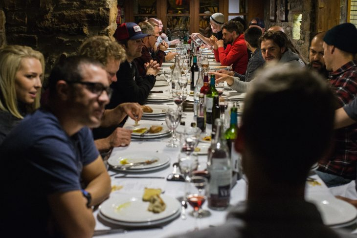 dinner specialized stumpjumper ainsa spain