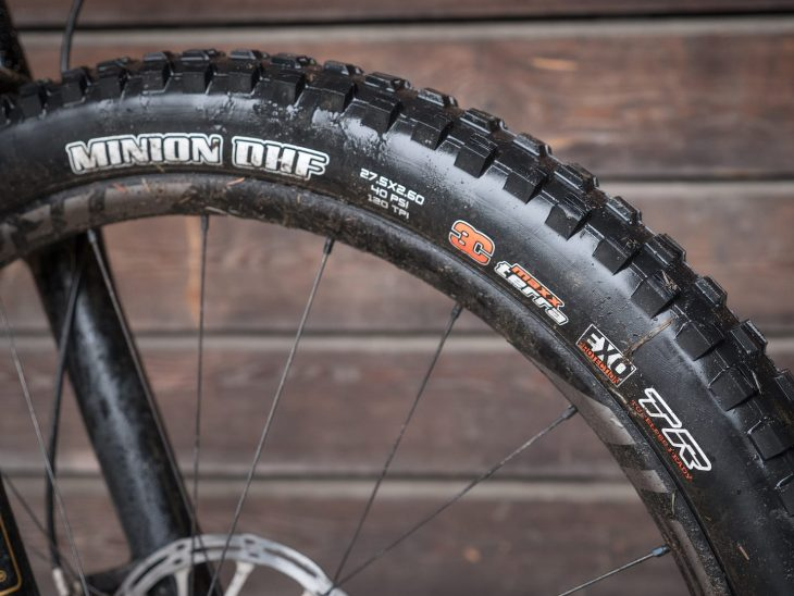 maxxis minion dhf 2.6in tyre ben gerrish specialized