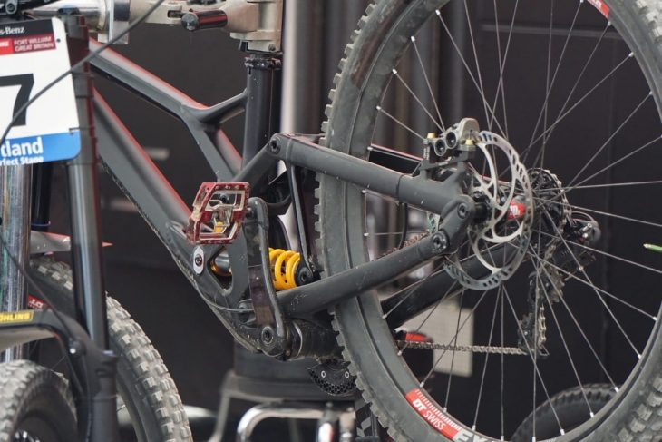 Miranda Millers Prototype Specialized 29er DH Bike