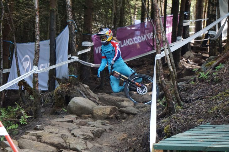 Fort William World Cup finals rachel atherton