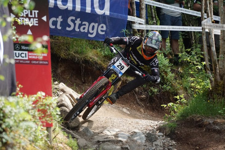 Fort William World Cup finals connor fearon