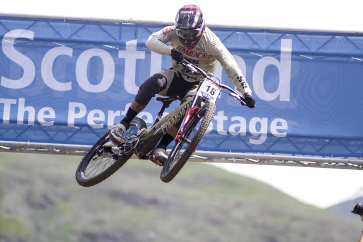 Fort William World Cup finals amaury pierron