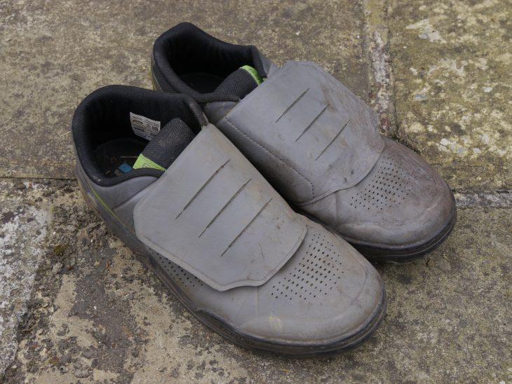 shimano gr9 flat pedal shoe michelin rubber