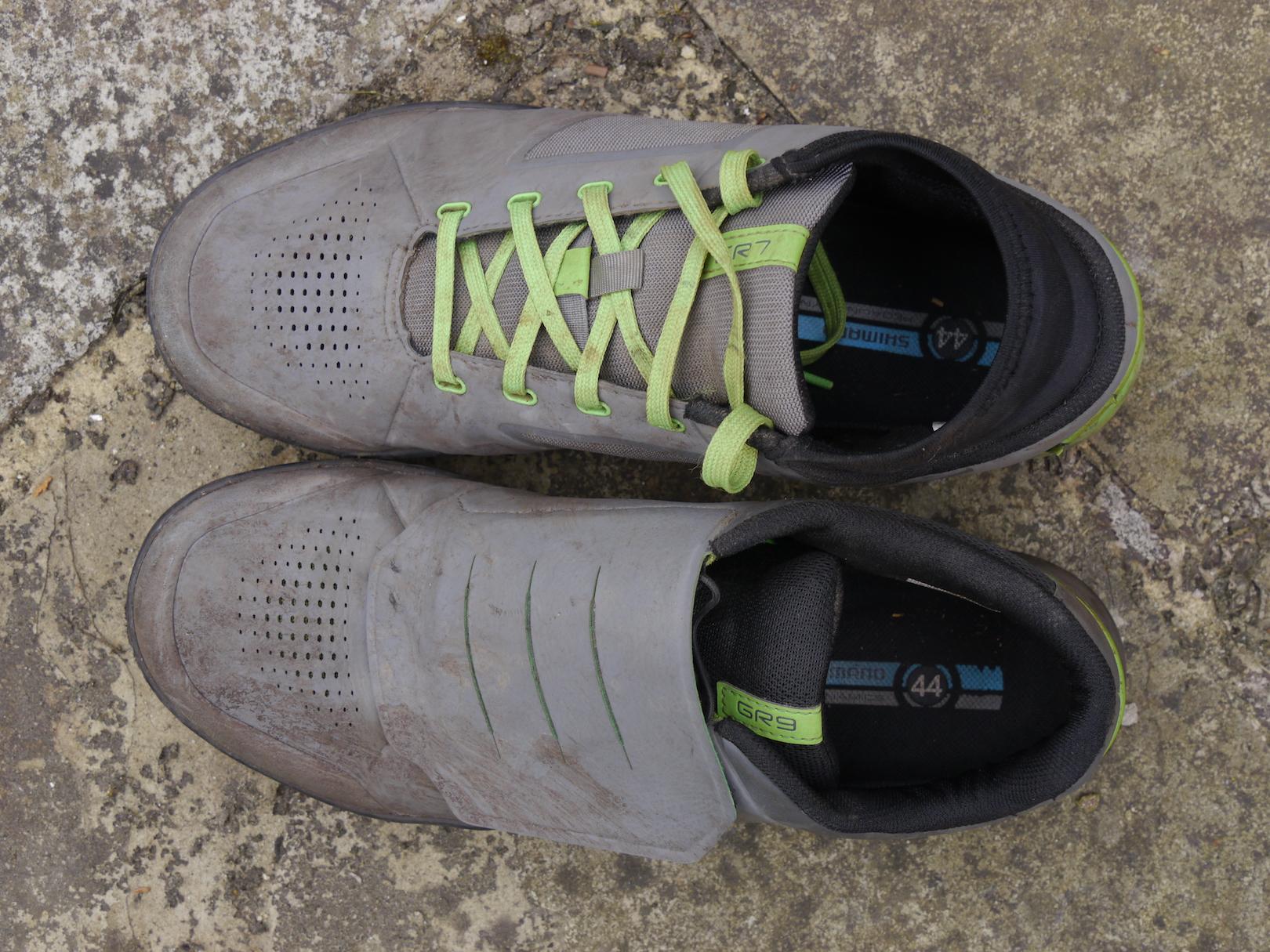 5c8fb91029f Review: Shimano GR7 vs GR9 Flat Pedal Shoes - Singletrack Magazine