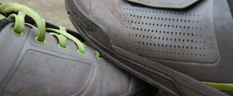 shimano gr7 gr9 flat pedal shoes michelin laces