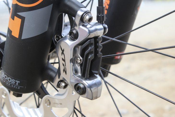 shimano xtr m9100 1x12 brake 4-piston