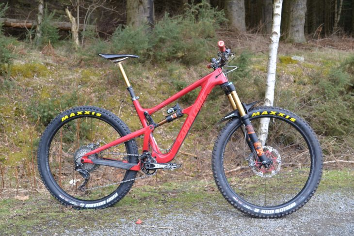 sun ringle duroc 40 plus wheels maxxis tyres 2.8in santa cruz hightower