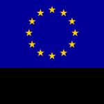 Euroopan unionin lippu, jossa on tähdistä uodostettu ympyrä. Tekstissä lukee euroopan unioni Euroopan sosiaalirahasto.