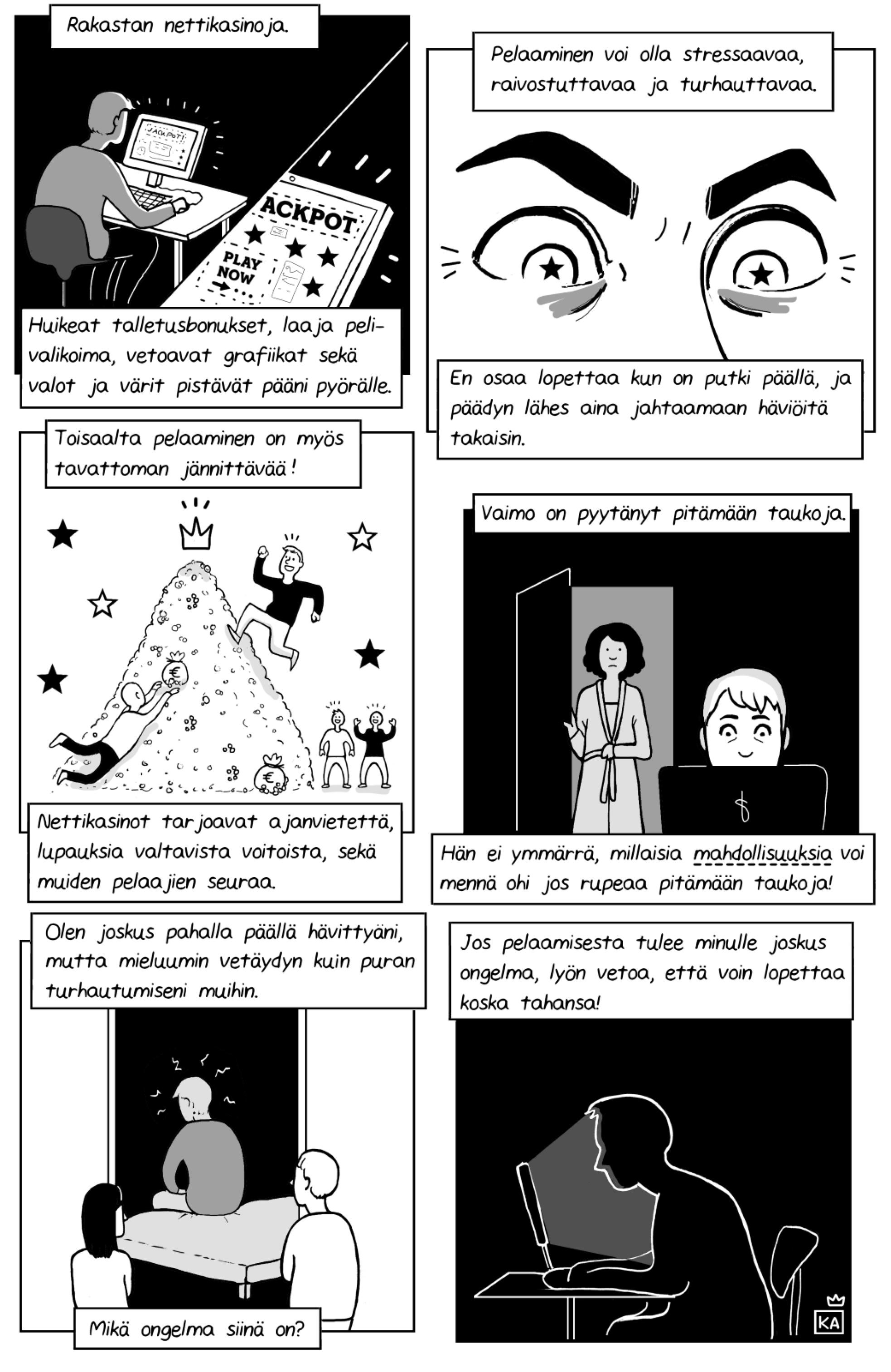 Kuningatar Alkoholi -sarjakuva