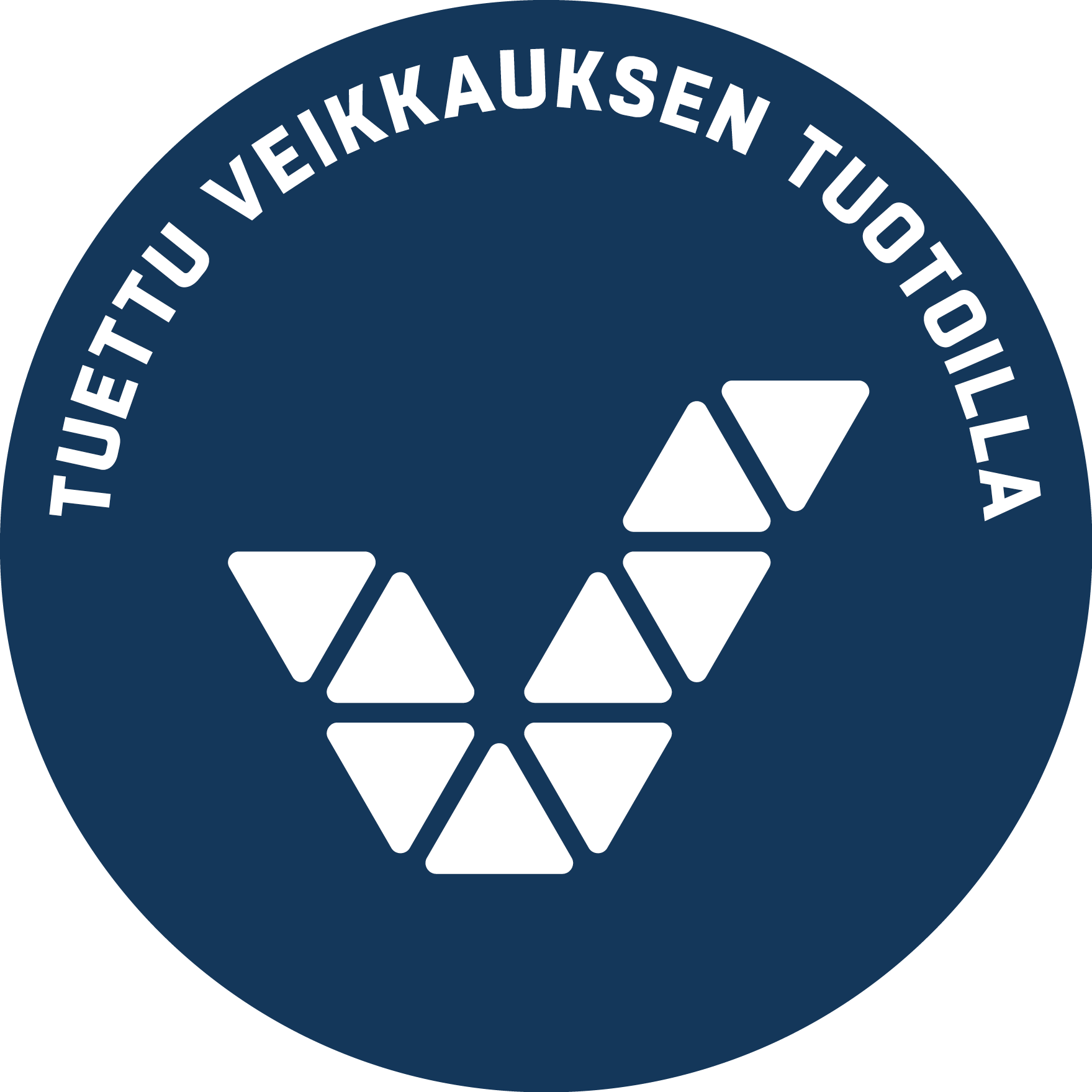 Tuettu Veikkauksen tuotoilla, logo.