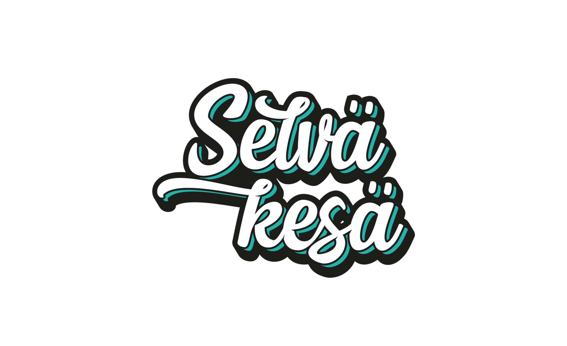 Selvä kesä, logo.